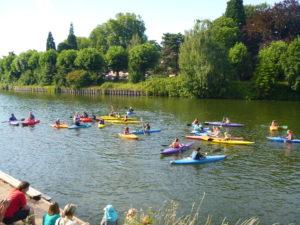"""Saarbrücker Kanu-Club bietet in den Sommerferien wieder vier Termine zum """"Schnupperpaddeln"""" für Kinder an"""