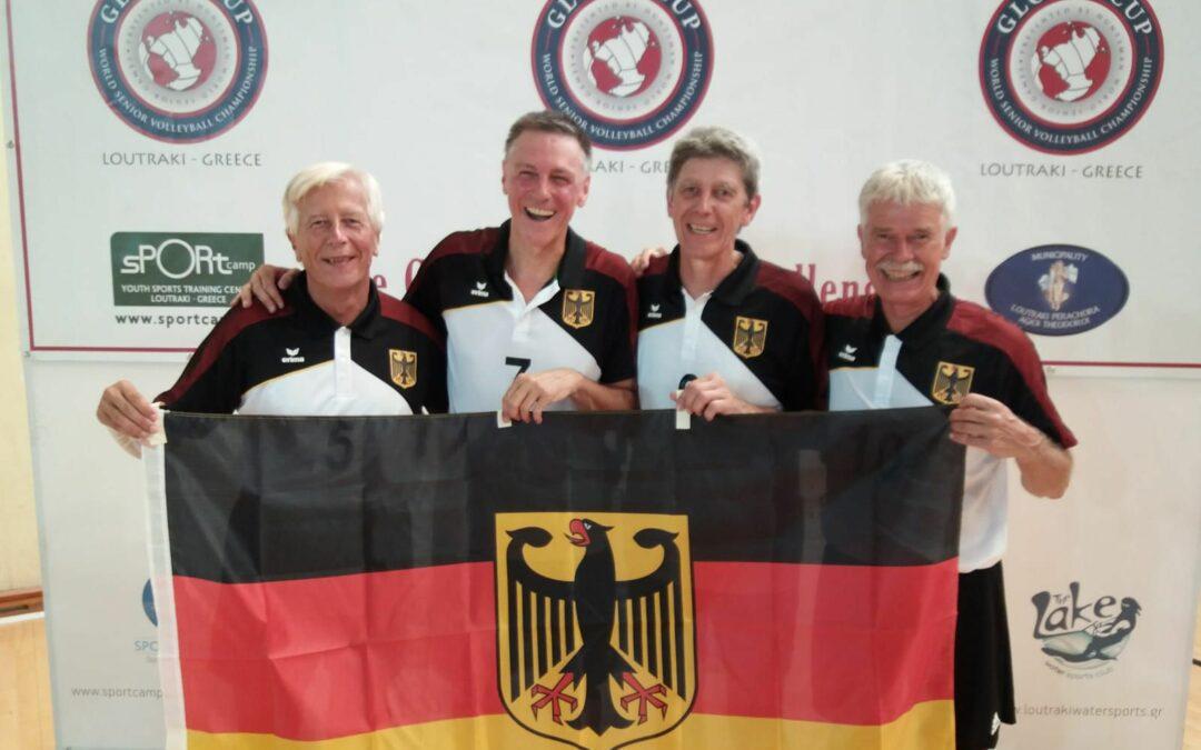 Saarländische Vizemeister bei der Ü60 WM