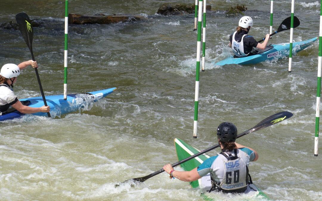 Erstes September-Wochenende im Zeichen des deutsch-französischen Kanu-Slaloms